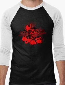 Oh no, John Ringo / Hail SS-18 Satan Men's Baseball ¾ T-Shirt