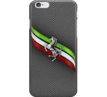 Ferrari Lover #2 [Silver - Black] iPhone Case/Skin