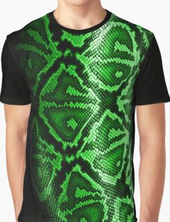GREEN SNAKE Graphic T-Shirt