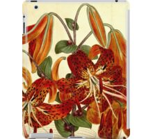 Vintage Chinese Lily iPad Case/Skin