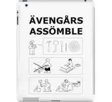 Superheroes Assembling iPad Case/Skin