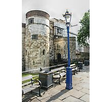 The Blue Lamp Post Photographic Print