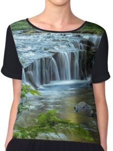 Ledge Falls, No. 4 Chiffon Top