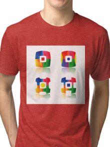 set of icons Tri-blend T-Shirt