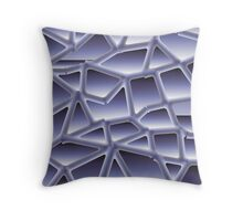 Gradient two Throw Pillow