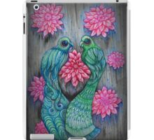 tropical love   iPad Case/Skin