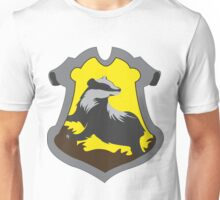 Hufflepuff House Crest Unisex T-Shirt
