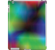 vibrant abstract background iPad Case/Skin