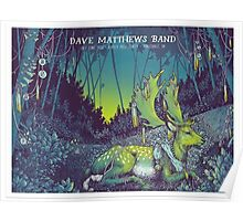 Dave Matthews Band Klipsch Music Center, Noblesville, IN 2016 # 2 Poster