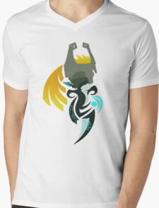 Hour of Twilight - Midna Mens V-Neck T-Shirt