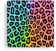 Fun Leopard Print Canvas Print