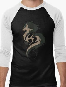 Hour of Twilight - Wolf Link Men's Baseball ¾ T-Shirt