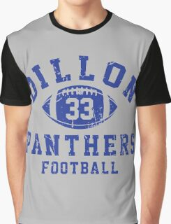 Dillon Panthers Football #33 Graphic T-Shirt