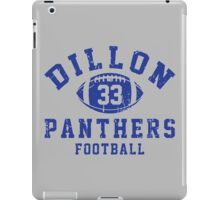 Dillon Panthers Football #33 iPad Case/Skin