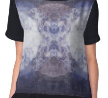Whale Lines Chiffon Top