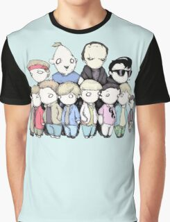 Goonies Vs Monster Squad Graphic T-Shirt