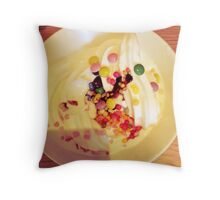 Icecream & Sprinkles Throw Pillow