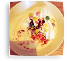 Icecream & Sprinkles Canvas Print