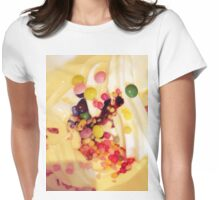 Icecream & Sprinkles Womens Fitted T-Shirt