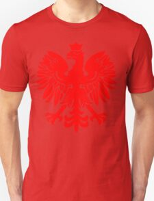 Polish Flag Red Eagle Unisex T-Shirt