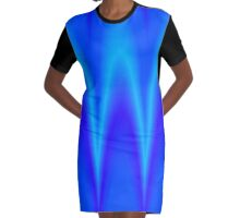 Blauwelle Graphic T-Shirt Dress