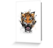 Unrelenting Ire Greeting Card
