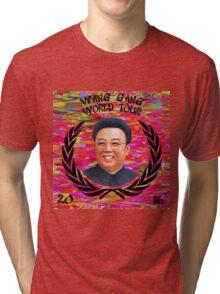 Wang Gang World Tour II Tri-blend T-Shirt