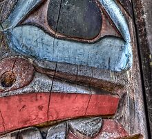 Haida First Nations Totem Carving by mspixvancouver