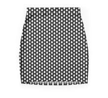 Droplets - White Mini Skirt