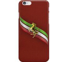Ferrari Lover #2 [Gold - Red] iPhone Case/Skin