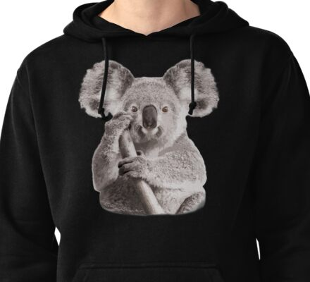 SAVE THE KOALA Pullover Hoodie