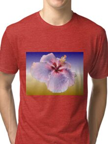 Hibiscus Colours Tri-blend T-Shirt