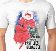 Vintage Jules Cheret 1895 Pastilles Geraudel Unisex T-Shirt