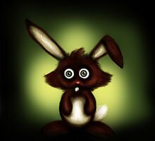 Crazy Rabbit by SpaceWaffle