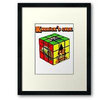 Kubrick 's Cube Framed Print