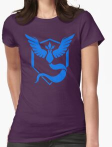 Retro Team Mystic Womens Fitted T-Shirt