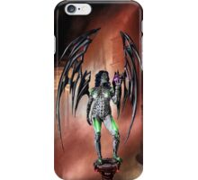 Robot Angel Painting 022 iPhone Case/Skin