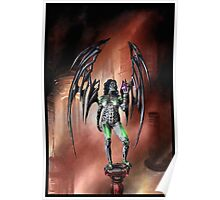 Robot Angel Painting 022 Poster