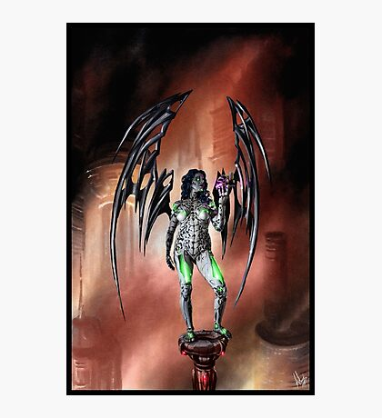 Robot Angel Painting 022 Photographic Print