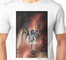 Robot Angel Painting 022 Unisex T-Shirt