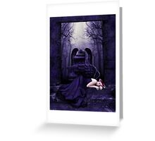 Lost Angel Greeting Card