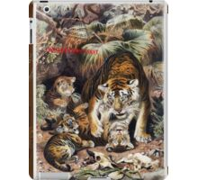 Tigers for Responsible Travel iPad Case/Skin