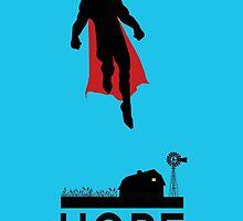 Superman is Hope by Jawiin