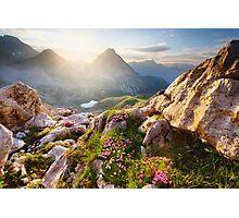 Bergparadies Photographic Print