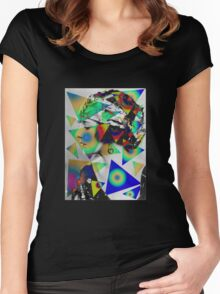 Viola Dana Women's Fitted Scoop T-Shirt