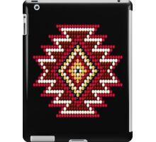 Red Native American Southwest-Style Sunburst iPad Case/Skin