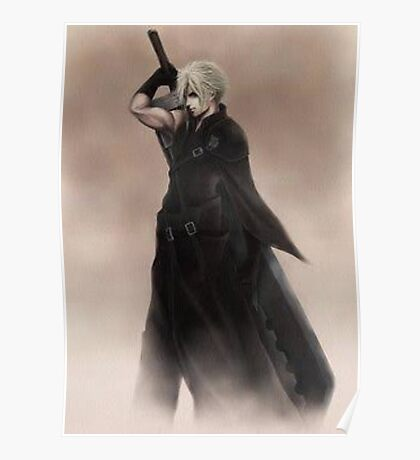 Cloud Strife Final Fantasy VII Poster
