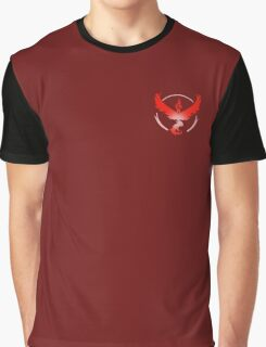 Valor - Pokemon Go - Team Valor Graphic T-Shirt