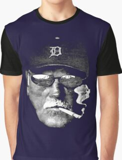 Cigarette Smoking Jim Leyland Graphic T-Shirt