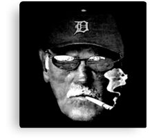 Cigarette Smoking Jim Leyland Canvas Print
